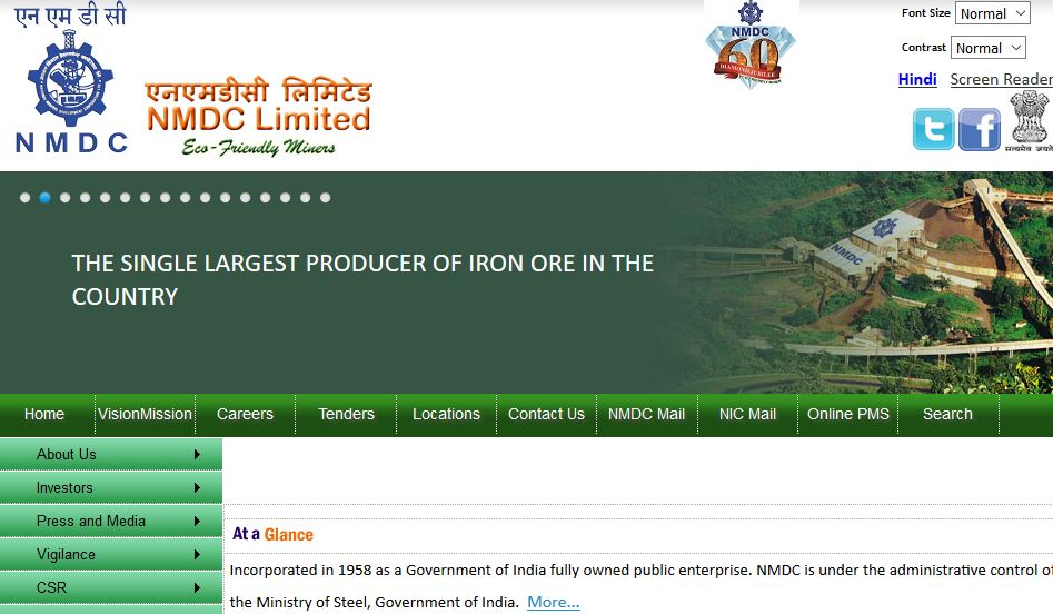 National Mineral Development Corporation Top Popular Largest Mining Companies in India 2018