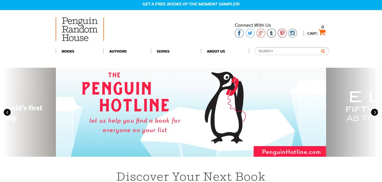 Penguin Random House Top Famous Publishing Houses in World 2018