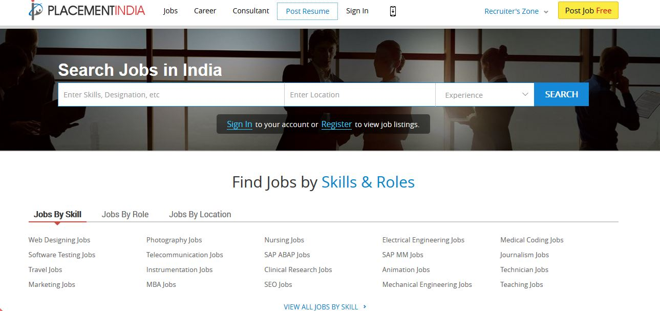 10 Best Websites To Search For Latest Govt Jobs in India