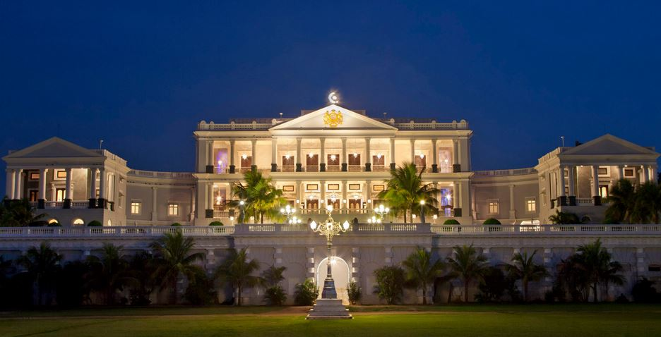 Taj Falaknuma Palace, Hyderabad Top Most Famous Expensive Hotels in India 2017