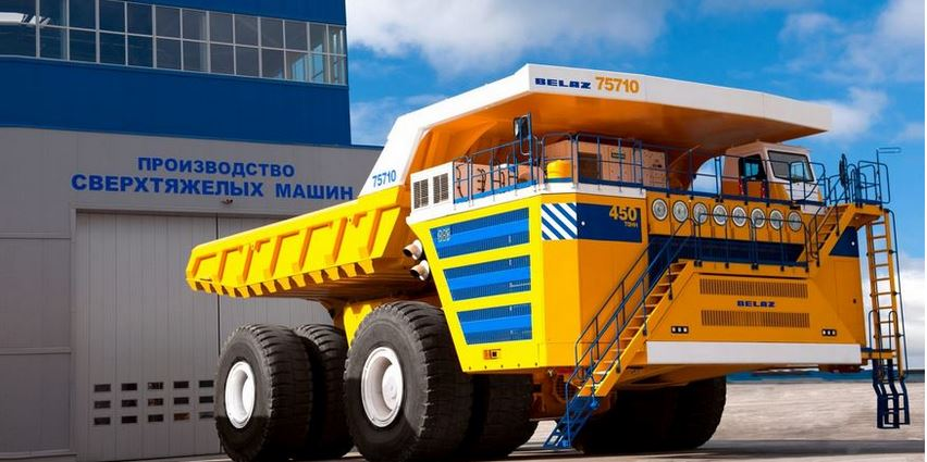 Belaz 75710 Top Famous Largest Trucks 2018